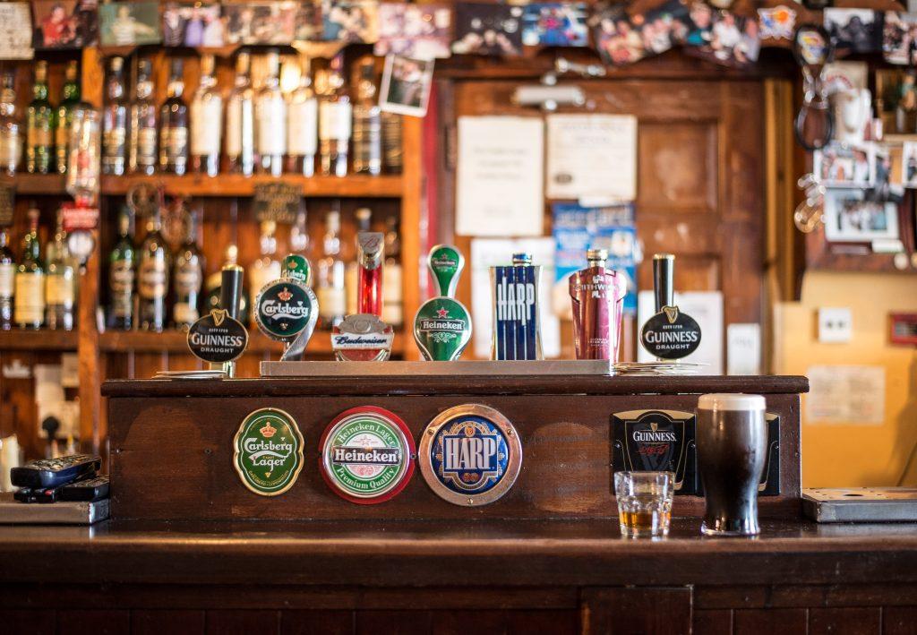 Bar setup nhà hàng