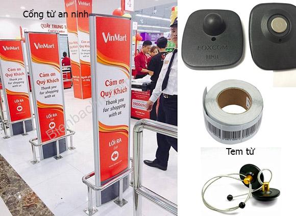Thiết bị An Ninh trong siêu thị - trung tâm thương mại