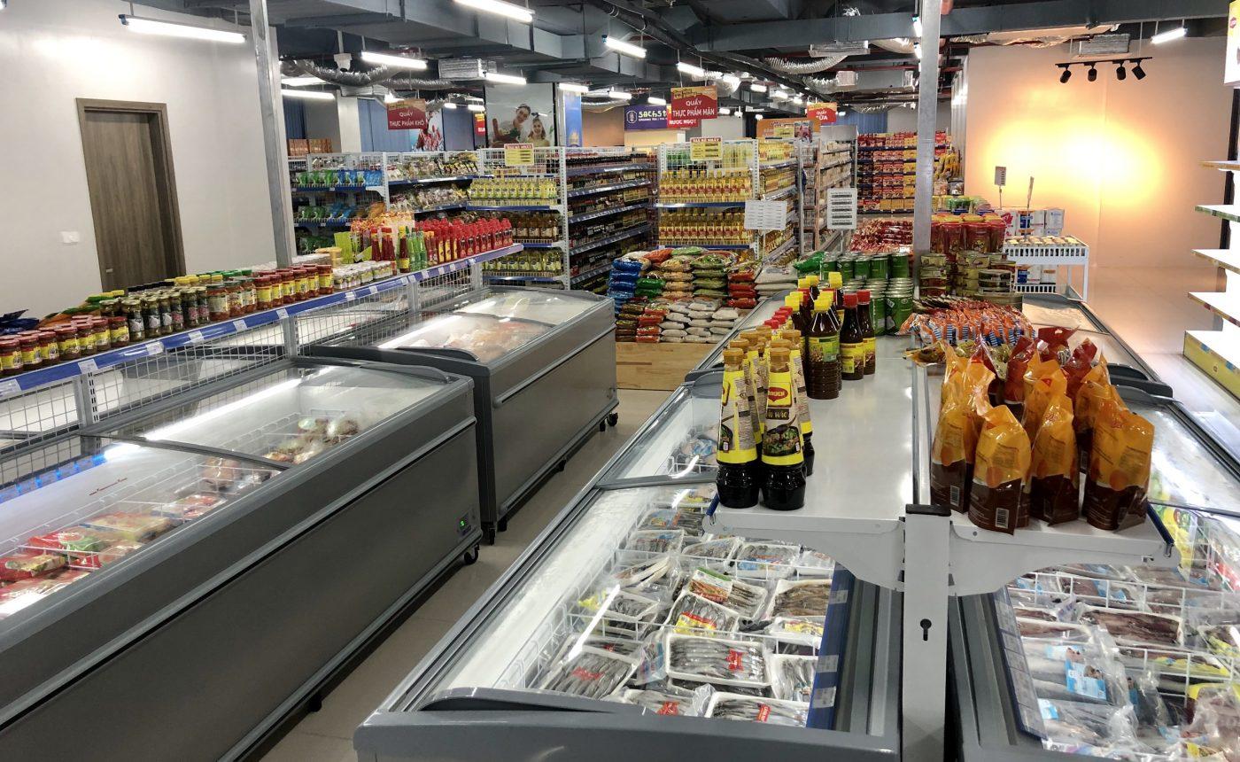 DỊCH VỤ SETUP SIÊU THỊ - mở siêu thị nên lấy hàng