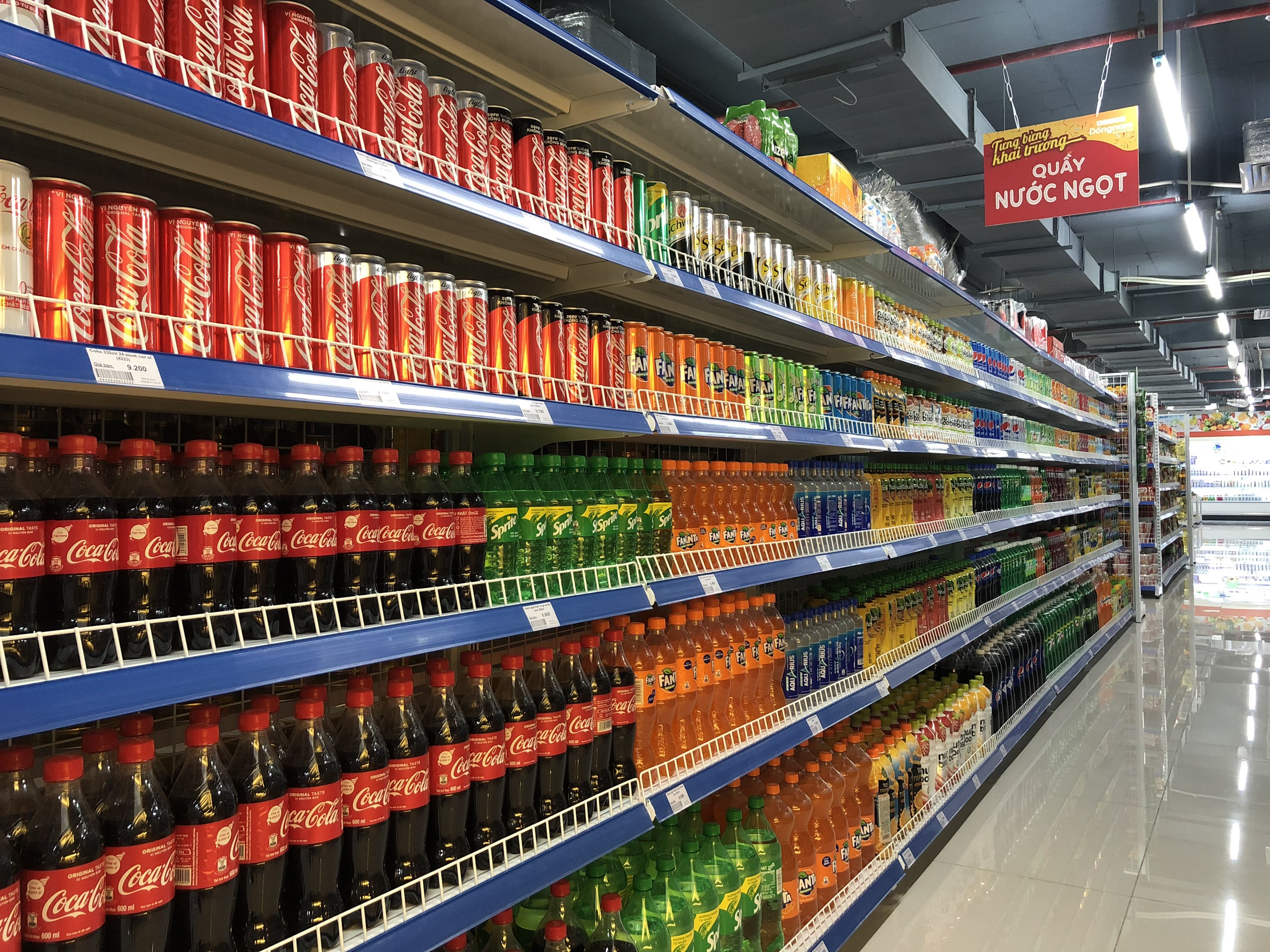 Trung tâm thương mại và gian hàng siêu thị